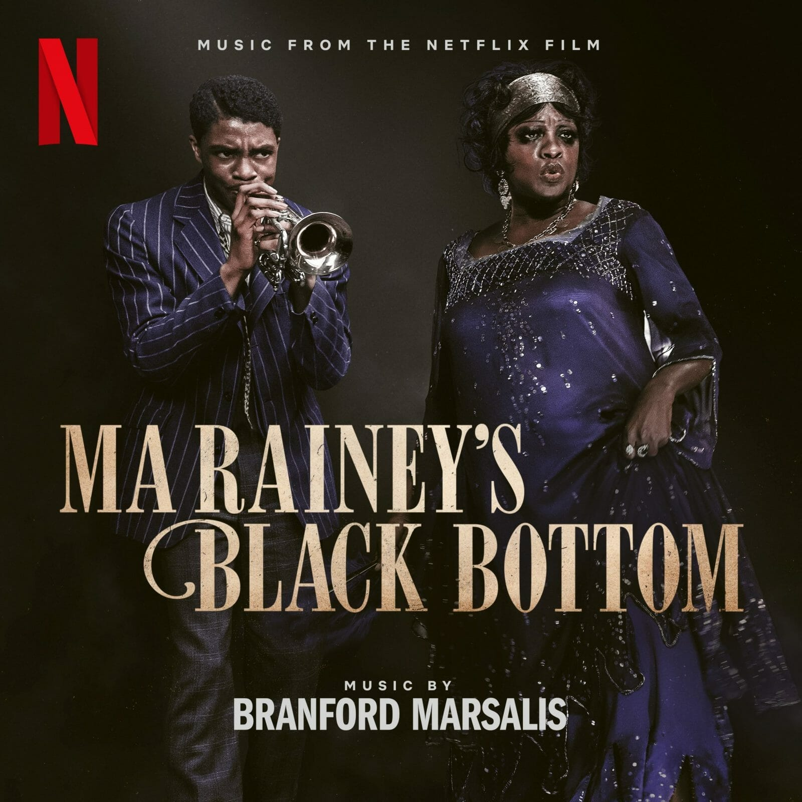 Ma Raineys Black Bottom Cover Netflix Movie
