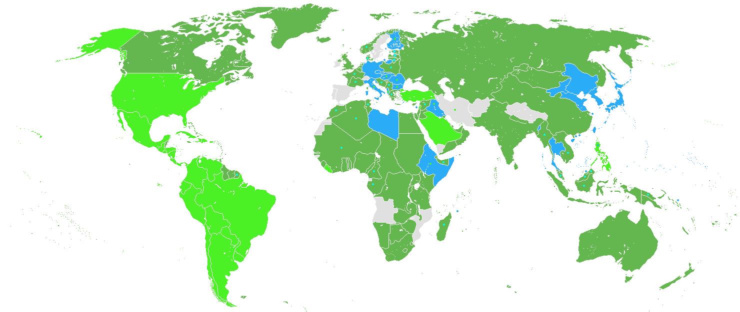 harta celui de-al doilea razboi mondial (imagine)