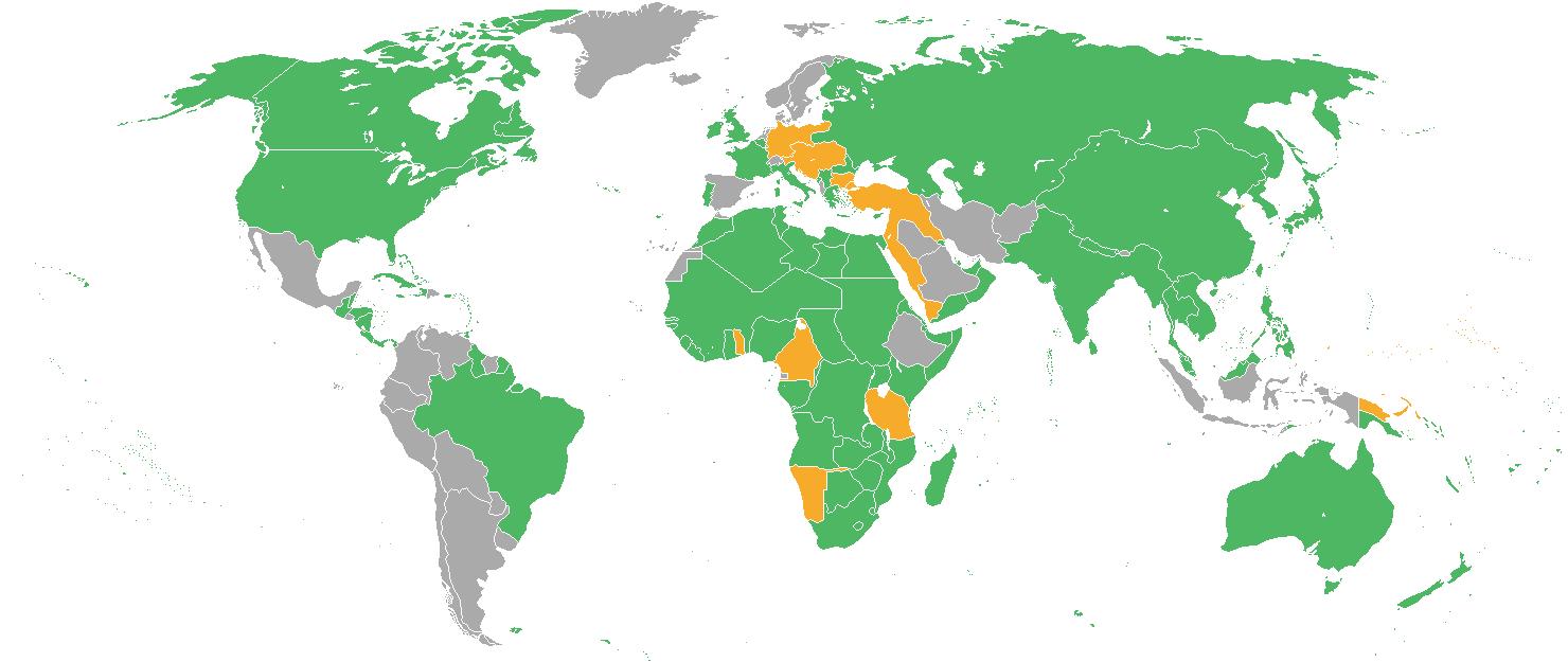 harta primului razboi mondial din lume
